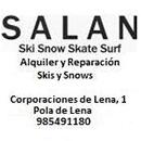 Salan, alquiler y reparación skis